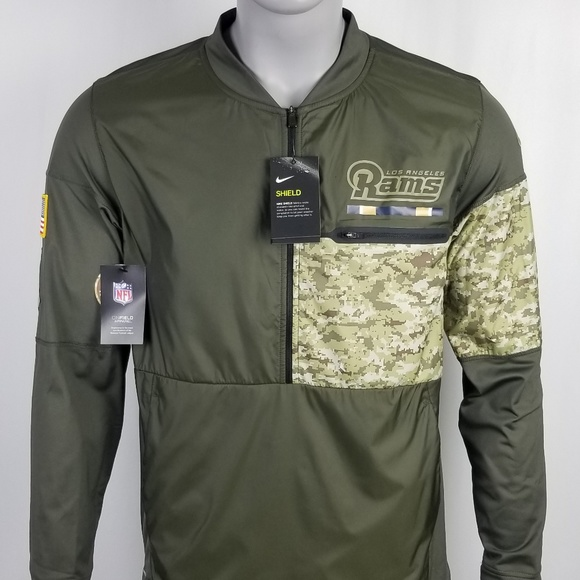 purchase cheap bdcee 49f1a NFL L.A. Rams Nike Shield Military Style Active NWT